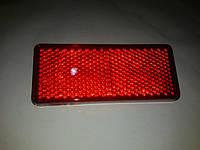 Катафот бампера Газель цвет красный крепление на одной шпильке размером 121см х 50см