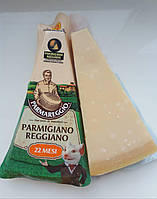 Сыр итальянский Parmigiano Reggiano Parmareggio (Пармезан) 22 мес. выдержки(250грамм)