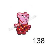 Джибитсы Свинка Пеппа в красном платье