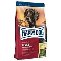 Корм Хэппи Дог Африка Happy Dog Africa для собак средних и больших пород страус и картофель 1 кг