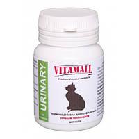 Витамины для кошек Vitamall (Витамол) для профилактика мочекаменной болезни 100 таблеток