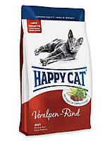 Корм Хеппи Кет Happy Cat Adult Voralpen Rind для кошек с альпийской говядиной 300 г