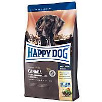 Корм Хэппи Дог Канада Happy Dog Canada для собак средних и больших пород лосось кролик картофель1 кг