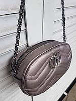 Женская сумка на пояс из кожзаменителя