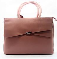 Женская сумка-портфель GАLАNTY из натуральной кожи розового цвета DGP-636610, фото 1