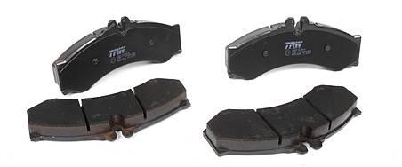 Колодки тормозные дисковые Vario,LT,DB Sprinter 408-414. TRW GDB1288 , фото 2
