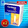 Комплект тест-полосок Contour TS / Контур ТС 50 шт., 2 уп. (100 шт.)