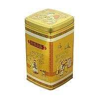 Кухонный контейнер для сыпучих Золотой век, 500 г ( банка с крышкой )