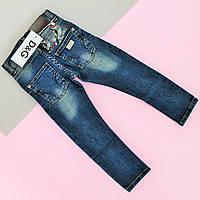 Детские джинсы для мальчика D&G с вышивкой размер 3,4,14,16 лет