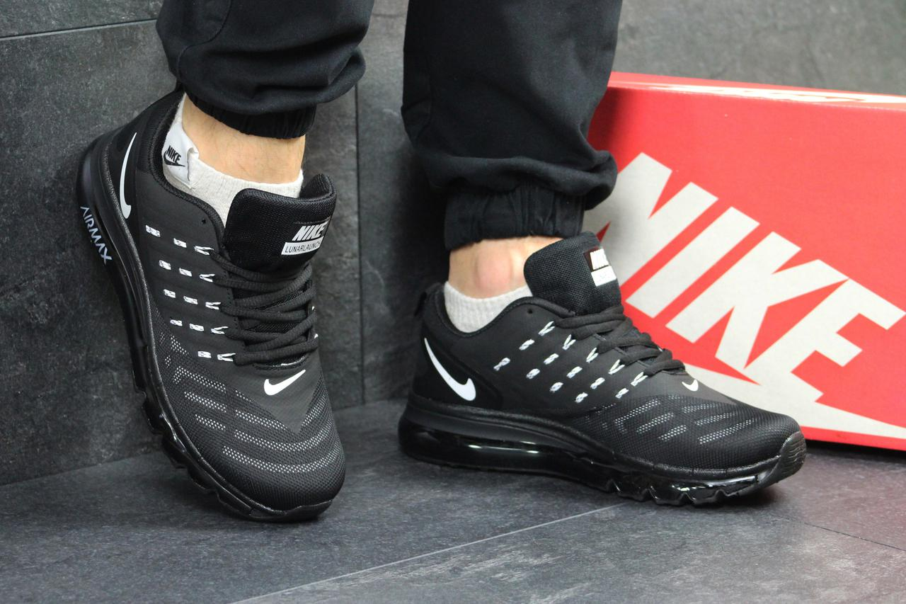 5d0fc9f0 Кроссовки мужские в стиле Nike Air Max lunarlaunch код товара SD-4949.  Черно-белые 44, цена 1 150 грн., купить в Киеве — Prom.ua (ID#681933709)