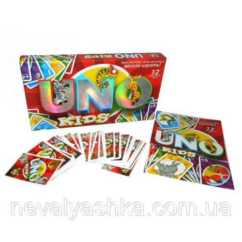Настольная Игра UNO KIDS ЗОО ZOO, SP G11, 007140