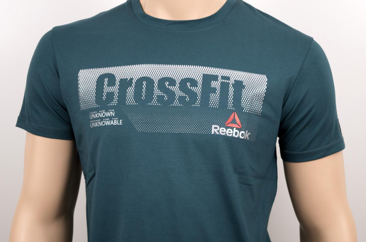 "Мужская футболка ""Reebok Crossfit"" бутылка"