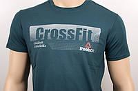"""Мужская футболка """"Reebok Crossfit"""" бутылка, фото 1"""