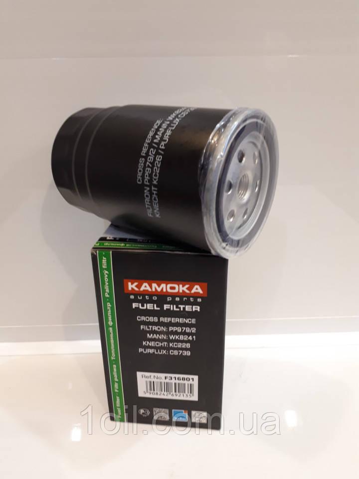 Фильтр топливный KAMOKA F316801  (аналог KC226)