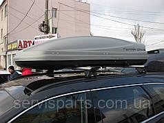 Багажник на интегрированные рейлинги крыши Hyundai Grand Santa Fe2013-
