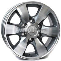 Литые диски WSP Italy ForToyota (W1760) Sapporo R16 W7 PCD6x139.7 ET30 DIA106.1 (anthracite polished)