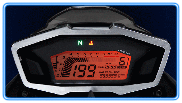 Loncin LX-300 Спидометр со светом