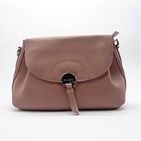 Женская сумочка GАLАNTY из прессованной кожи розового цвета GАL-002718, фото 1