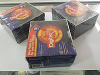Коробка на 1 mini CD/DVD Digitex DCASLB8-01-10CW (Black, пластик, 5мм, 10 шт.)