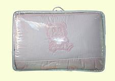 Комплект постельного белья для младенцев в кроватку (однотонные) Мальва, фото 3