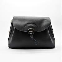 Женская сумочка GАLАNTY из прессованной кожи черного цвета GАL-002730, фото 1