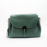 Женская сумочка GАLАNTY из натуральной кожи зеленого цвета GАА-002009, фото 1