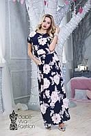 Женское Платье Длины макси размеры 48-56 код 1705, фото 1