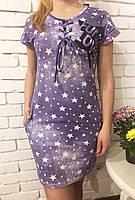 Летнее платье женское Шнуровка