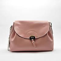 Женская сумочка GАLАNTY из натуральной кожи розового цвета GАА-002026, фото 1