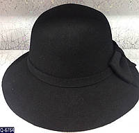 Женская шляпа 56-58 см натуральный фетр