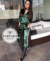 Женский спортивный костюм  (42-44 , 44-46) —  атлас купить оптом и в Розницу в одессе 7км