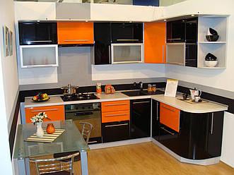 Стильная угловая кухня Федерикко