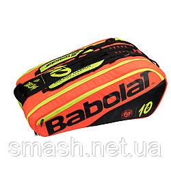 Чехол для ракеток Babolat RH X12 PURE DECIMA RG/FO (12 ракеток)