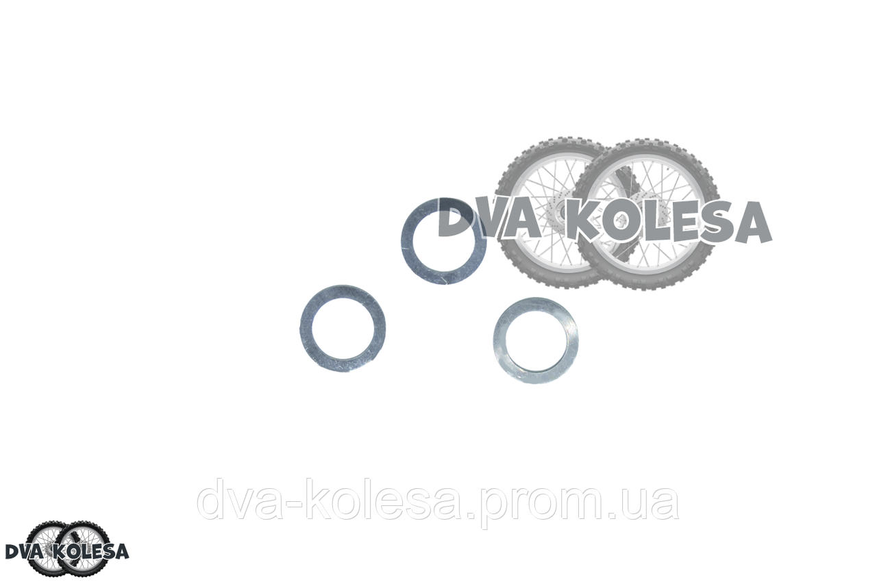 """Шайбы тюнинга вариатора переднего  GY6 50  3шт  0.8/1.2/1.5mm  """"VLAND"""""""