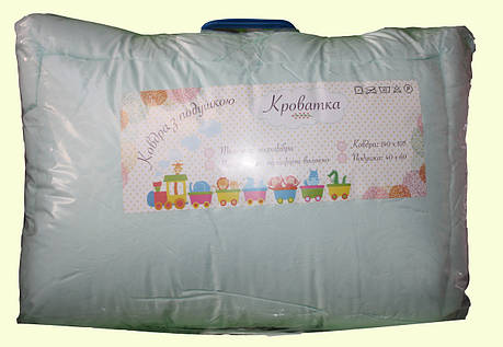 Кроватка детское одеяло с подушкой  Мальва, фото 2