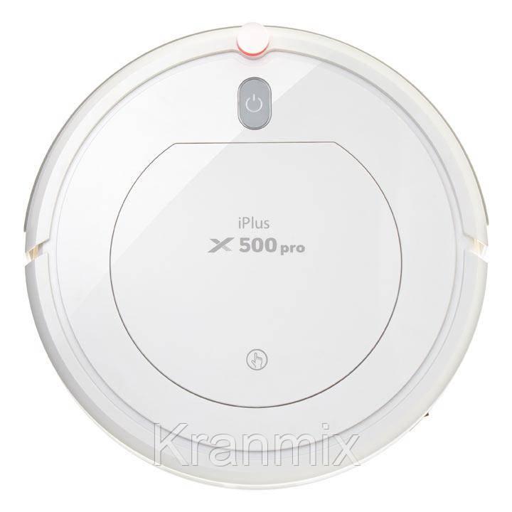 Робот-пылесос PANDA iPlus x500pro белый, для влажной и сухой уборки