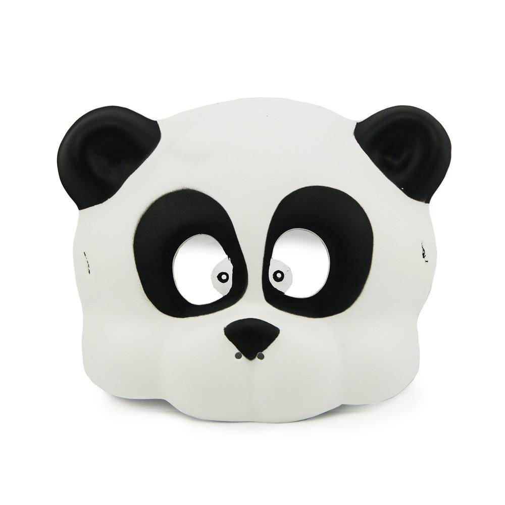 Маска виниловая детская Панда