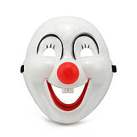 Маска пластик Клоун