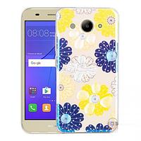 Чехол силиконовый Huawei Y3 2017, Light Remax (Хуавей у3 2017, чехол-накладка, бампер, защита для телефонов)