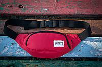 Cумка на пояс (барсетка) - Outfits Limited - Burgundy Boom Bag 1.0
