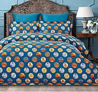 Комплект постельного белья двуспальный евро сатин Arya Fashionable Sementa