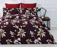 Комплект постельного белья двуспальный евро сатин Arya Fashionable Rosella