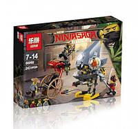 Конструктор LepinNinja Movie / Ниндзя 06068 Атака Пираньи (аналог Lego Ninjago Movie 70629)