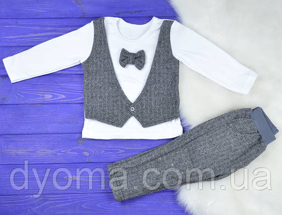 """Детский костюм """"Джентльмен"""" для мальчиков, фото 2"""