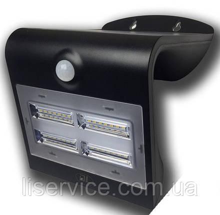Светильник аккумуляторный на солнечной батарее LSD-SWL-3,2W-Butterfly (черный), фото 2