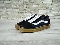 Кеды Vans Old Skool Black White Gum, фото 1