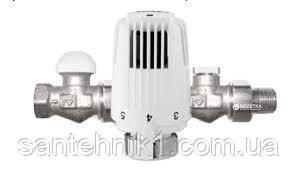 Термостатический комплект радиаторный бокового подключения HERZ Standart прямой