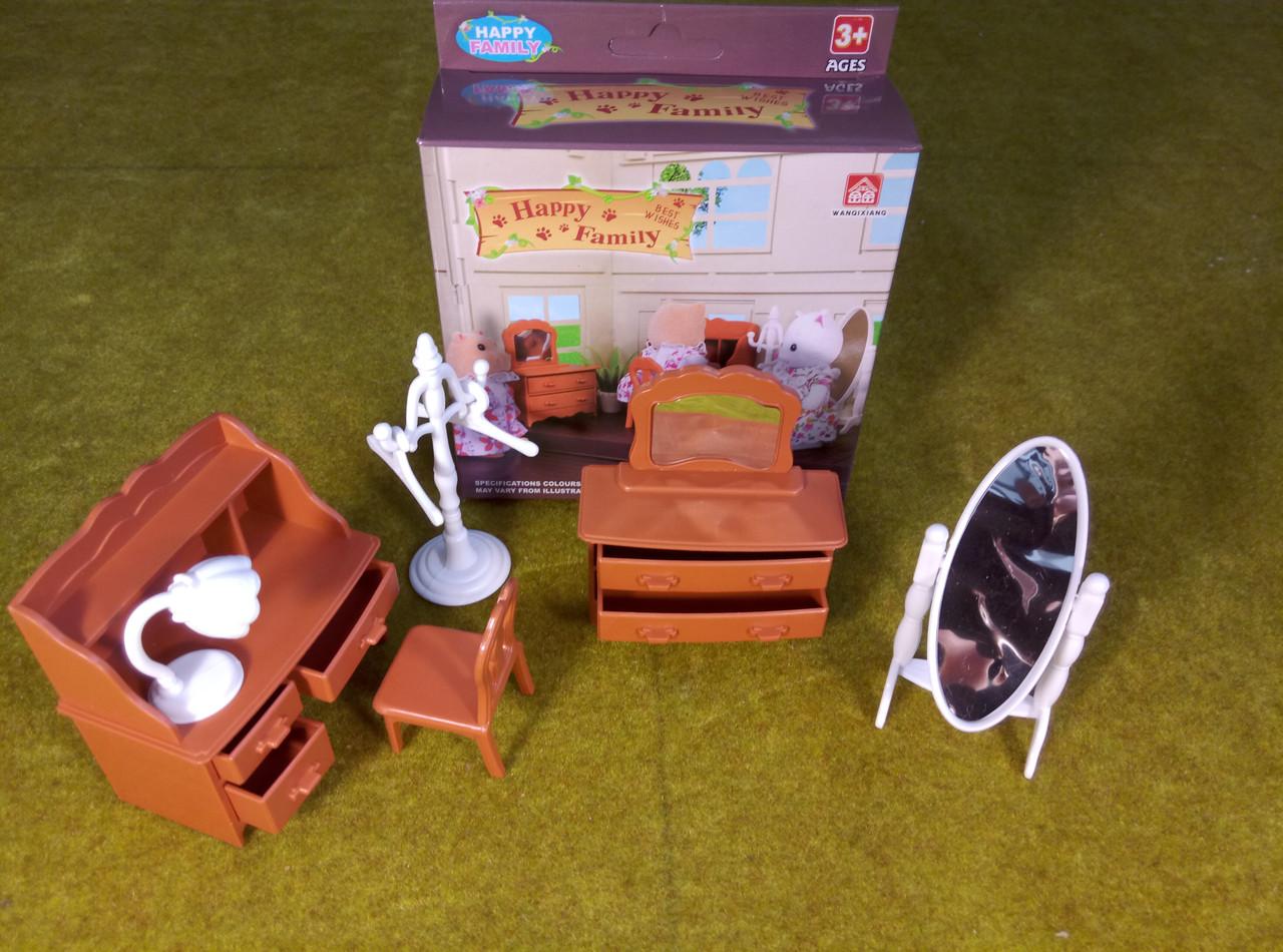 Кукольная мебель Письменный стол Happy family