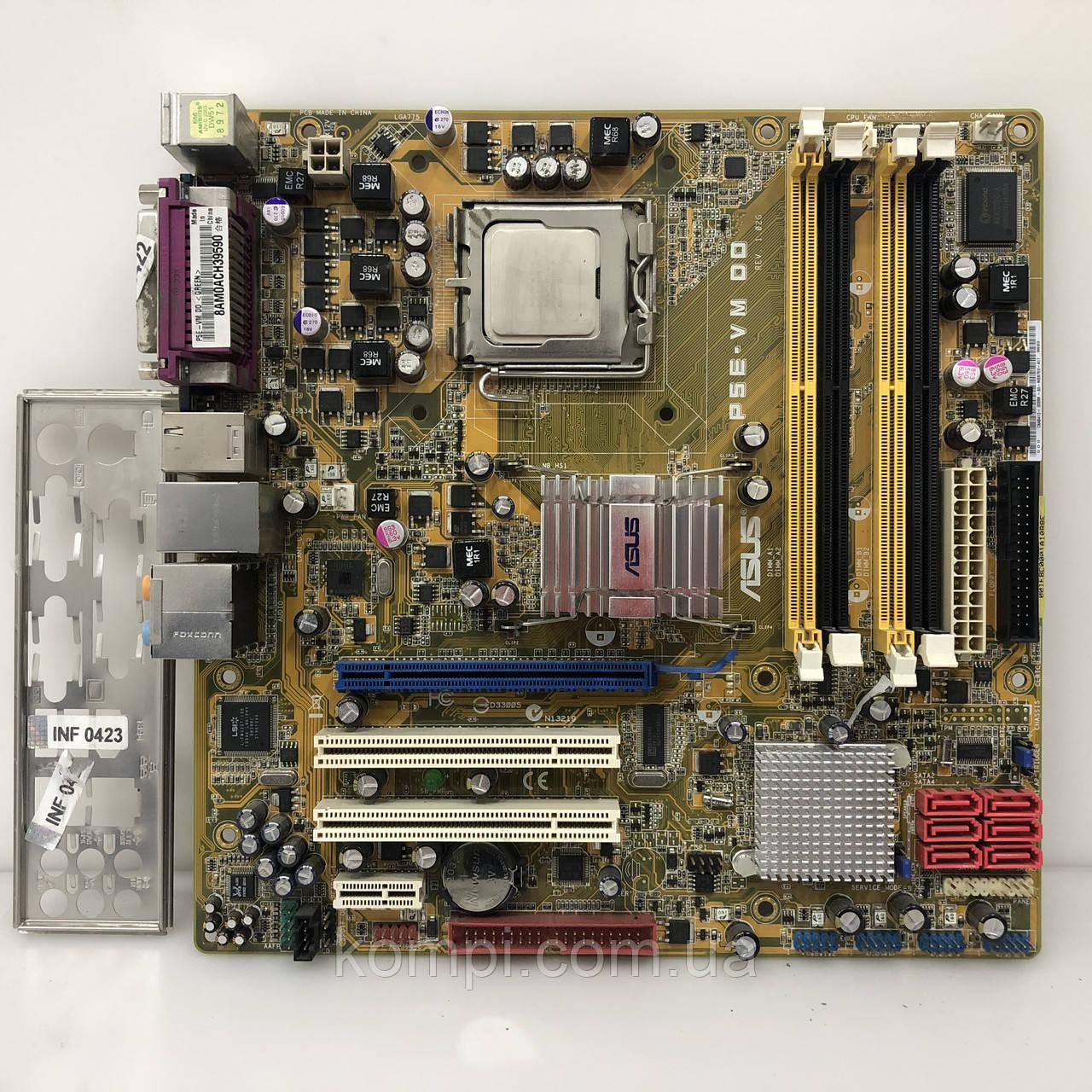 Материнская плата ASUS P5E-VM DO+E2140  S775/QUAD G35 DDR2