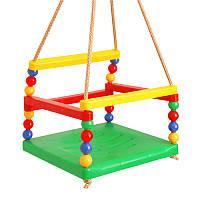 Качеля детская подвеснаяТехноК 0052, (пл.) 30×30×25 см